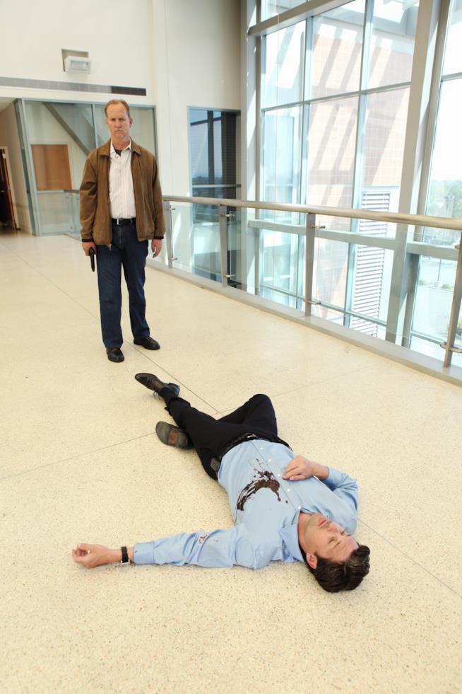 Derek Shepherd a terra in ospadela