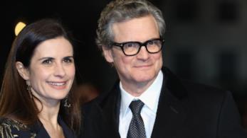 Colin Firth e la moglie Livia