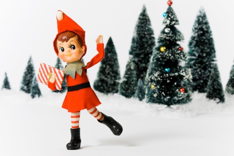 L'elfo sulla mensola