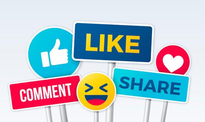 Emoji e parole più usate in facebook