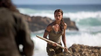 Una scena di Tom Raider