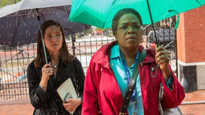 Rose Byrne e Oprah Winfrey in una scena del film La vita immortale di Henrietta Lacks