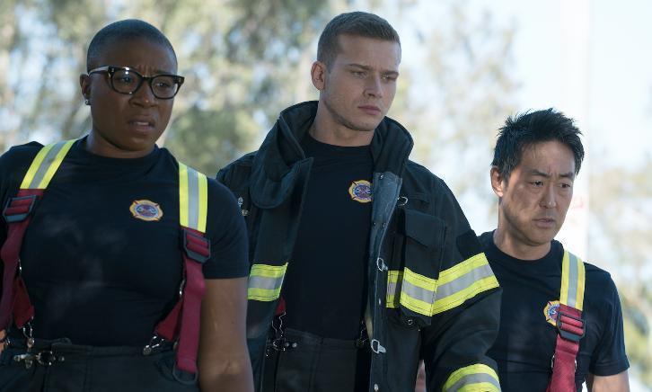 911: i protagonisti in un'immagine dalla seconda stagione