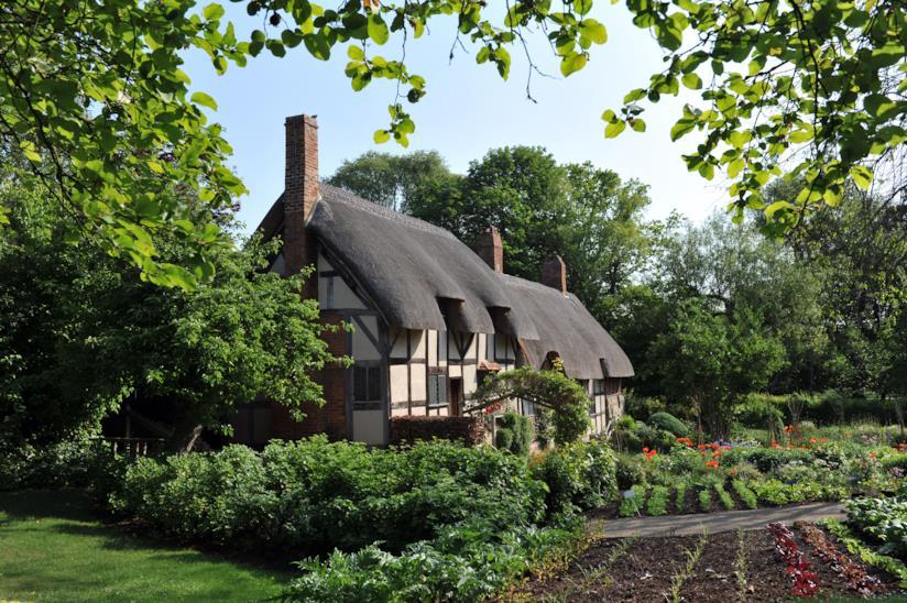 Il cottage di Anne Hathaway, moglie di Shakespeare