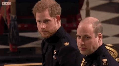 Harry d'Inghilterra al matrimonio