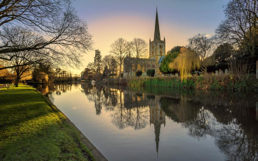 Scorcio di Stratford-upon-Avon