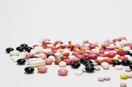 pastiglie colorate