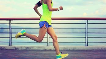 Correre per mantenersi in forma