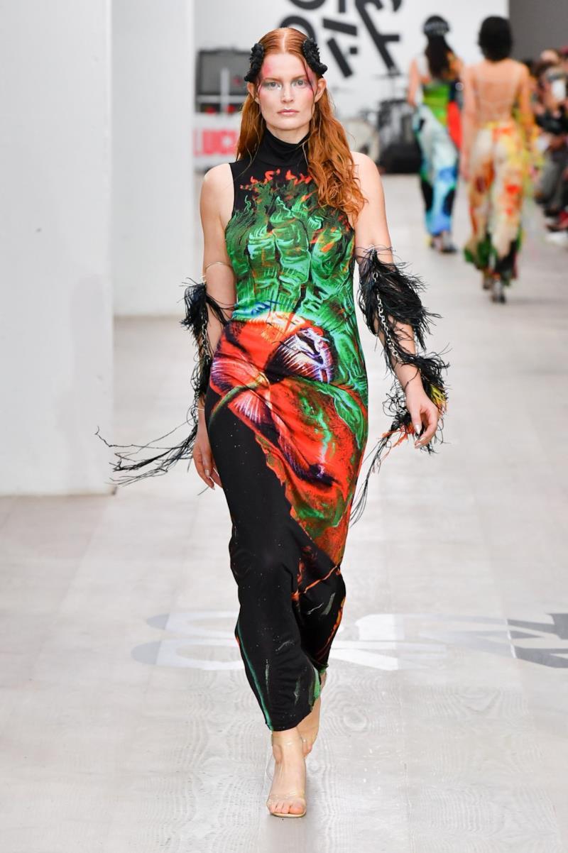 Sfilata ON-OFF PRESENTS Collezione Donna Primavera Estate 2020 Londra - CSC_1409
