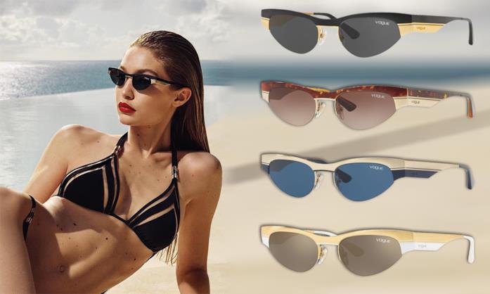 Gli occhiali da sole stile Matrix moda P/E 2018