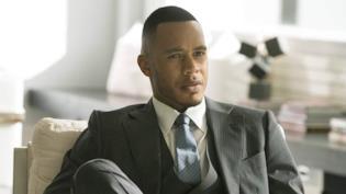 Andre in un'immagine dalla quinta stagione di Empire