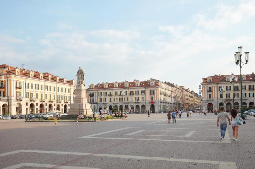 La città di Cuneo