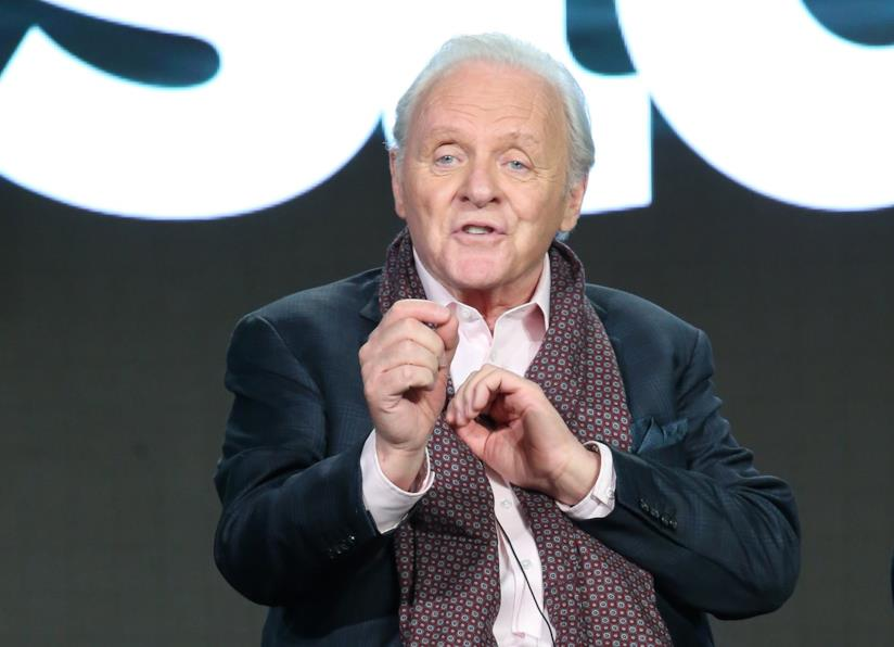 L'attore inglese Anthony Hopkins