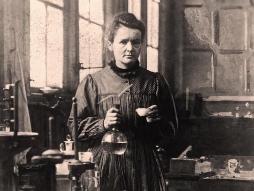 La scenziata Marie Curie
