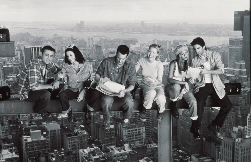 Una foto promozionale della serie Friends