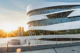 Museo Mercedes-Benz Stoccarda visuale esterna