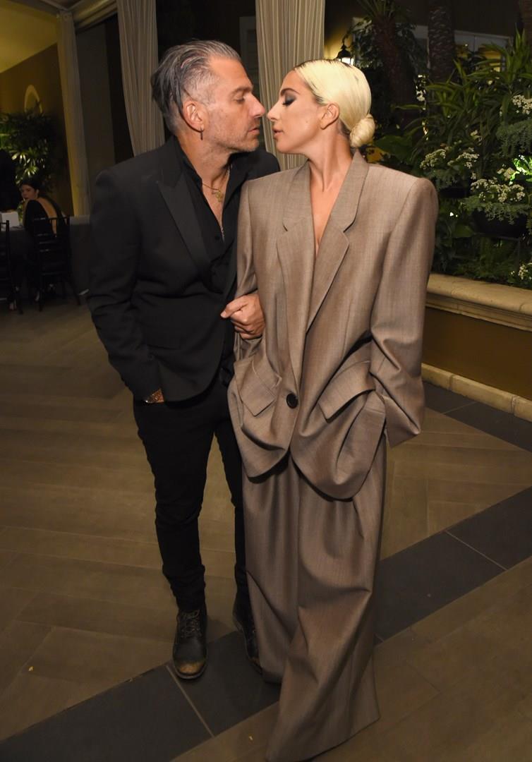 Lady Gaga e Christian Carino all'evento Elle 2018