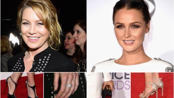 Ellen Pompeo e il cast di Grey's Anatomy alla premiazione del People's Choice Awards 2016