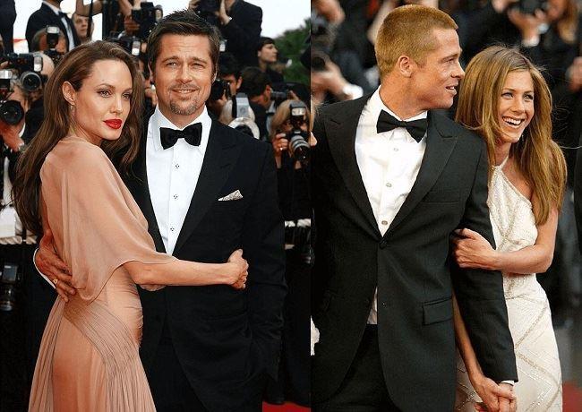 Brad Pitt ha tradito Jennifer Aniston con Angelina Jolie