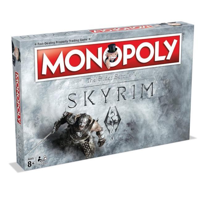 Il Monopoli ispirato a Skyrim