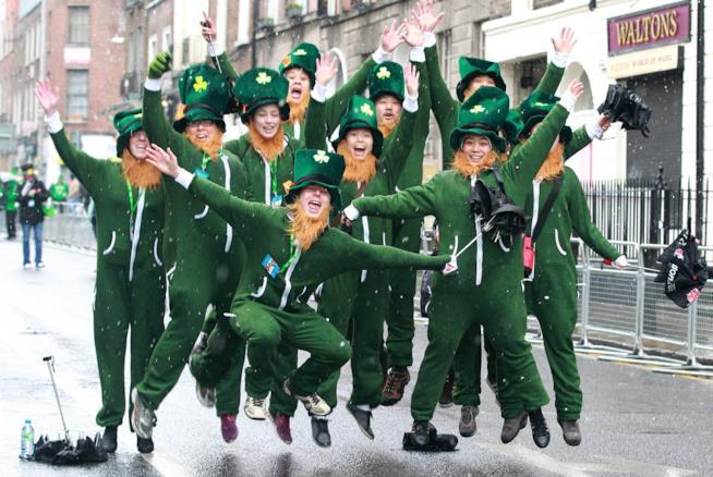 Parata di San Patrizio in Irlanda