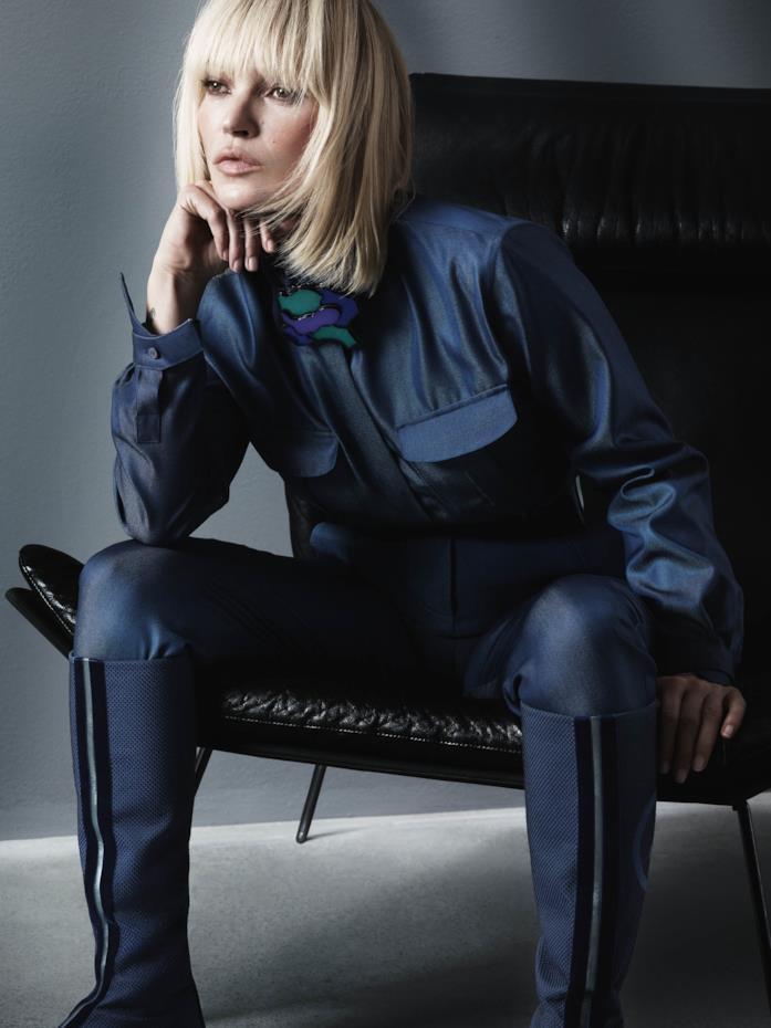 Kate Moss volto della campagna Giorgio Armani A/I 19/20