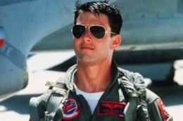 Una scnea di Top Gun con Tom Cruise