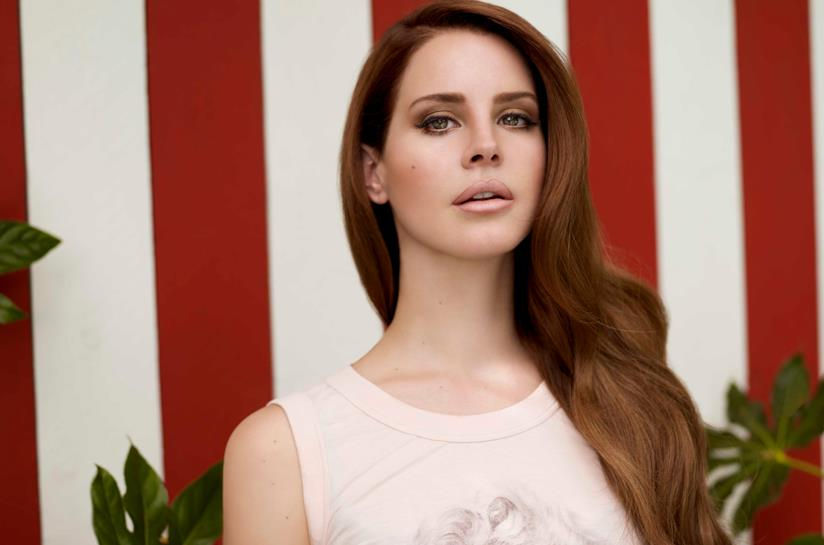 La pop star Lana Del Rey