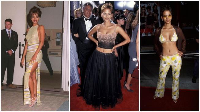 I primi look da red carpet di Halle Berry