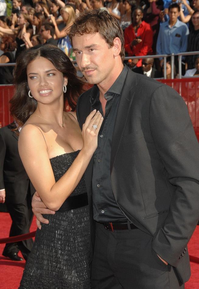 Adriana Lima e Marko Jarić