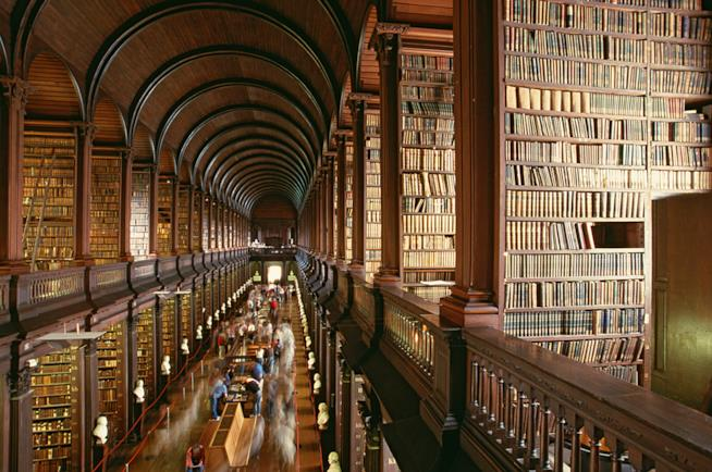 Trinity College e Old Library,