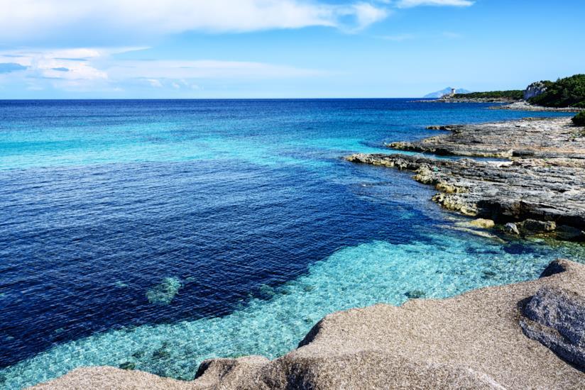 Il mare cristallino di Pianosa, riserva naturale delle isole Tremiti