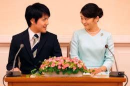 La principessa Mako e il futuro sposo Kei Komuro