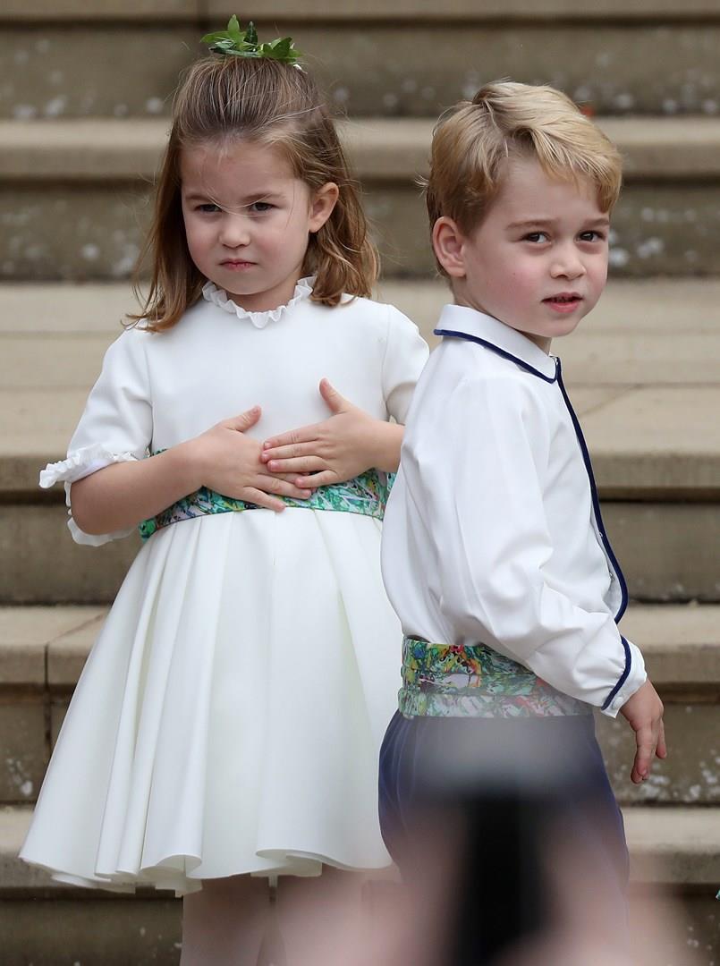 Il Principe George e la Principessa Charlotte