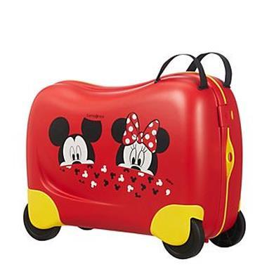 Valigia per bambini Minnie e Topolino