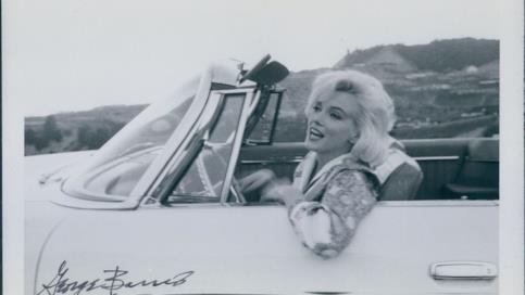 Marilyn Monroe in una gallery di foto inedite
