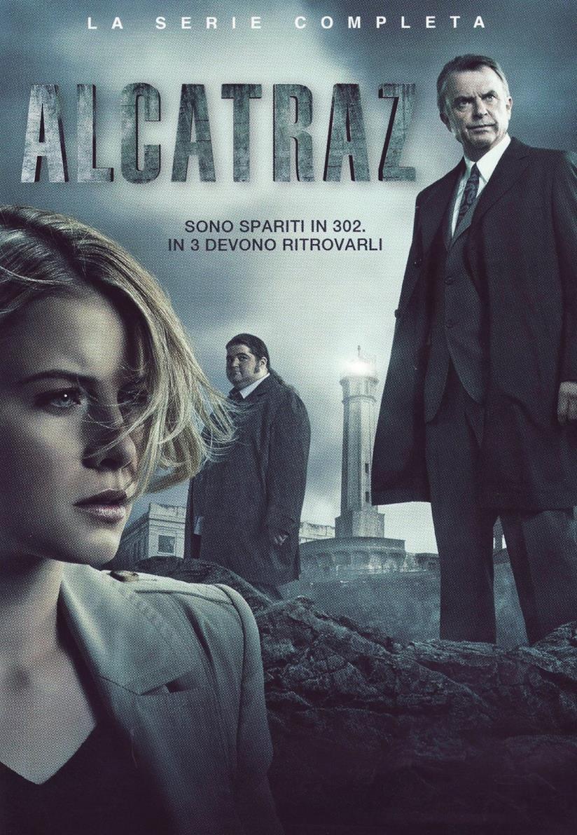 Cofanetto DVD di Alcatraz - Stagione 1