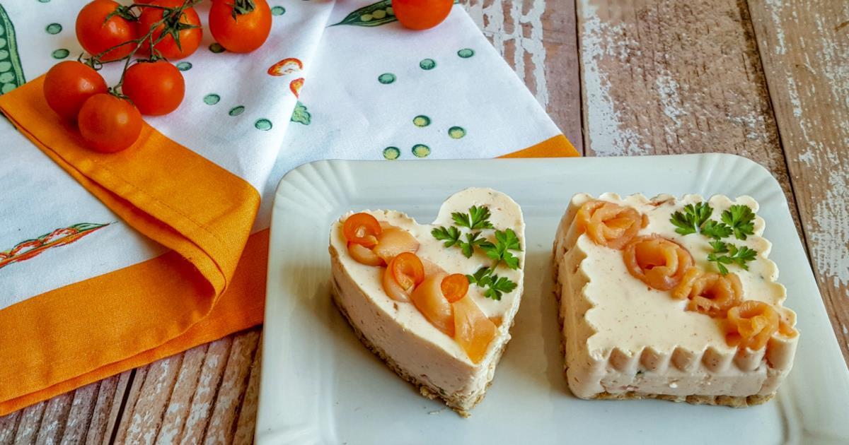 Cheesecake leggera al salmone: l'antipasto per la festa della mamma