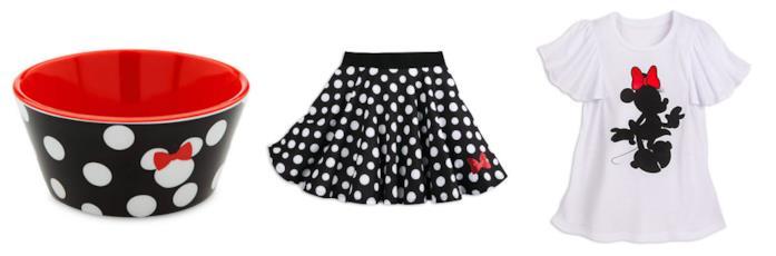 Oggetti della collezione Minnie Rock the Dots