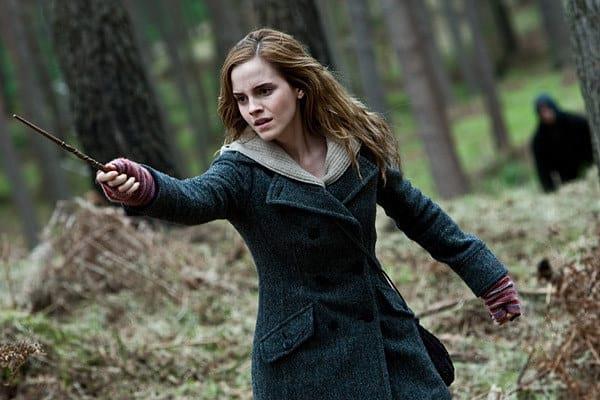 Emma Watson è Hermione Granger nella saga cinematografica di Harry Potter