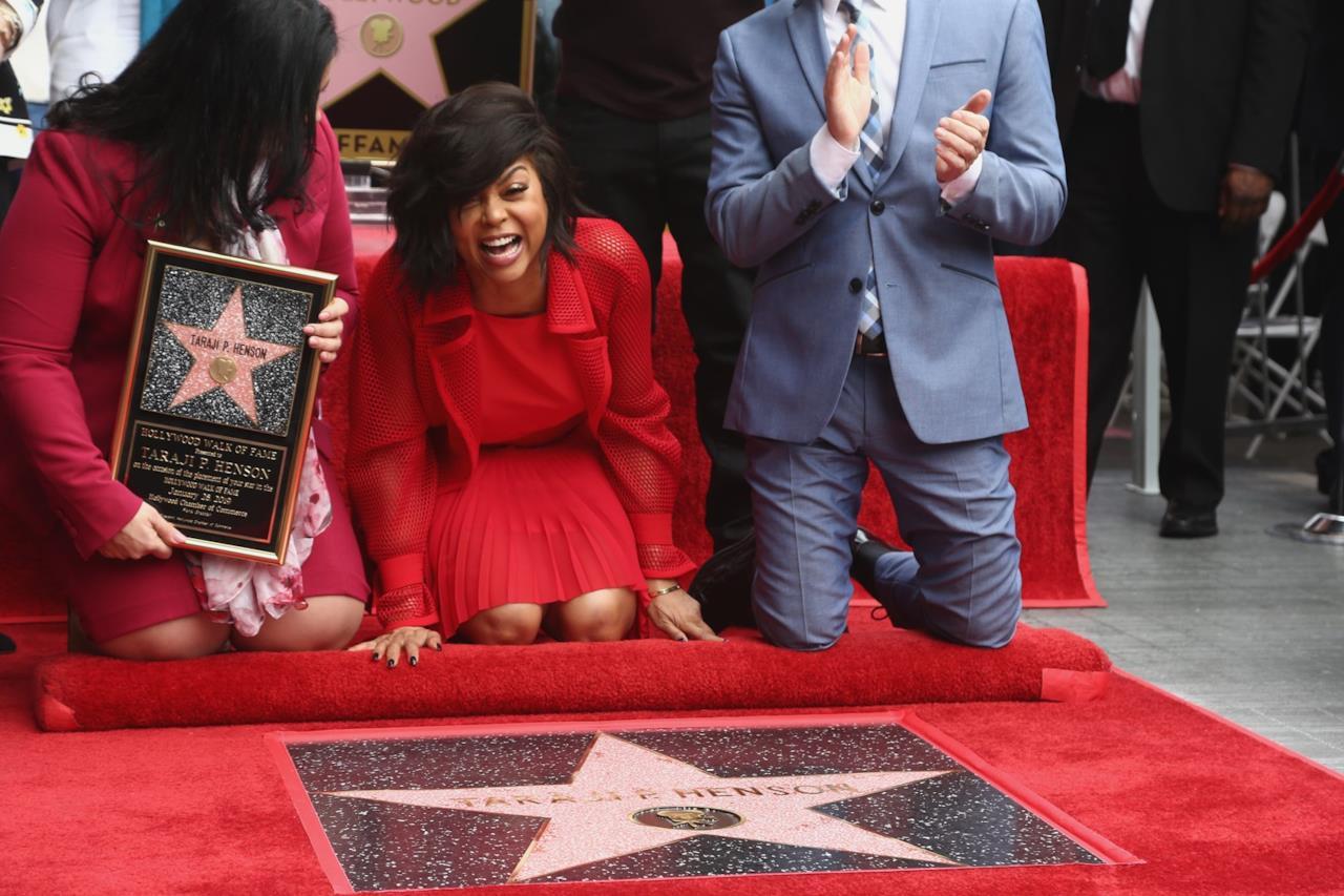 Taraji P. Henson sulla Hollywood Walk of fame