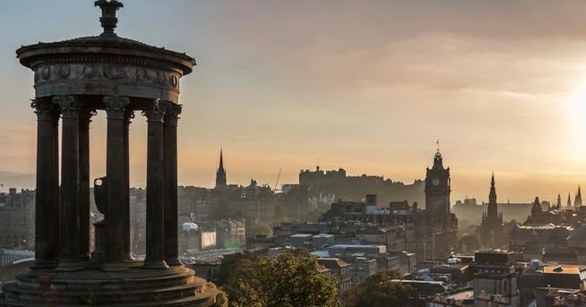 Scorcio di Edimburgo