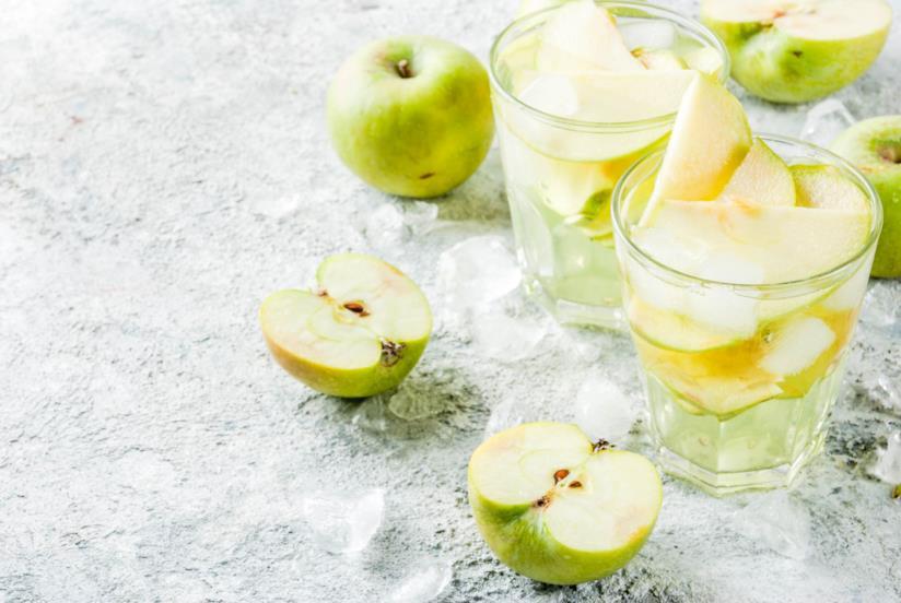 Bevanda alla mela e zenzero