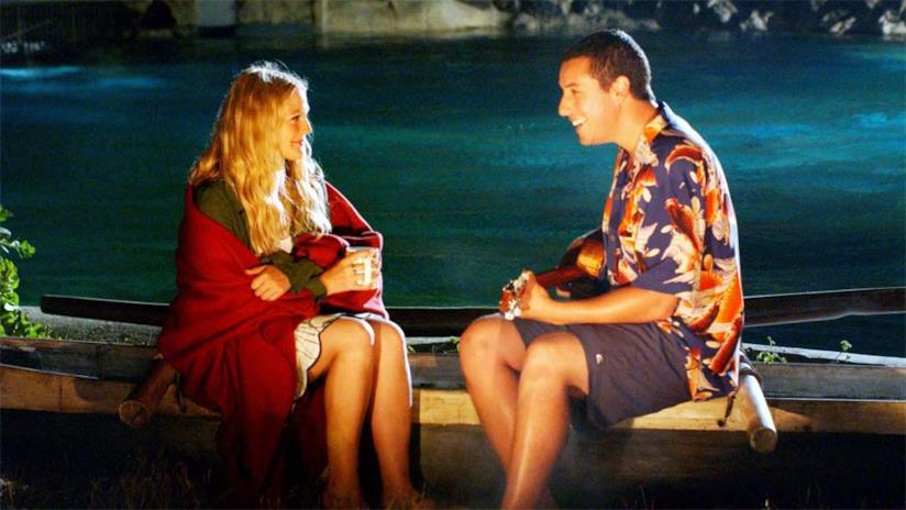 Adam Sandler e Drew Barrymore