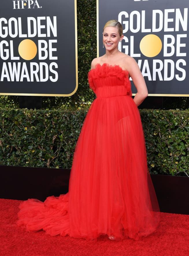 Lili Reinhart ai Golden Globes 2019