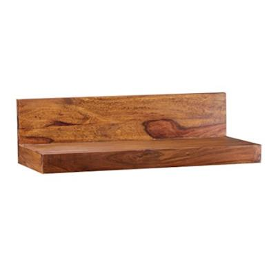 Scaffale da parete in legno massiccio