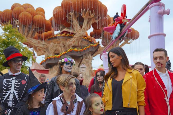 Federica Nargi per Gardaland Magic Halloween
