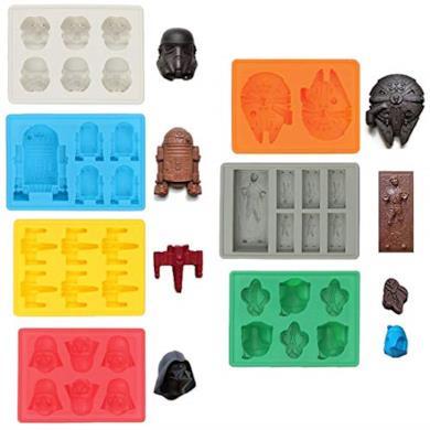 Stampi in silicone di Star Wars
