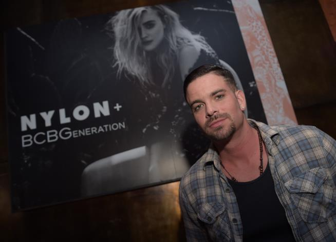 Mark Salling al NYLON Young Hollywood Party