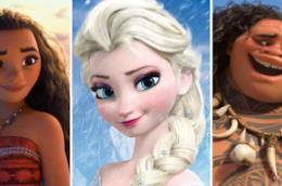 I personaggi di Oceania e Frozen